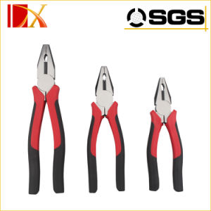 "6"" 7"" 8""Japanese Combination Pliers with PVC Double Color Handle"