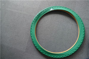 ISO9001 Certified High Quality Green Bicycle Tire pictures & photos