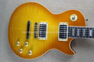 Hanhai Music / Light Brown Lp Standard Style Electric Guitar pictures & photos