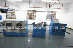 Skin-Foam-Skin Triple-Layer Co-Extrusion Physical Foaming Cable Extrusding Machine pictures & photos