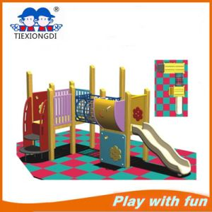 Cheap Wooden Outdoor Playground Made in China pictures & photos
