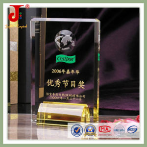 Crystal Clear Book Trophy (JD-CT-311) pictures & photos