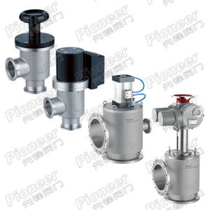 Right Angle Vacuum Valve with Pioneer Quality pictures & photos
