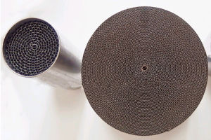 Honeycomb Metallic Substrate Catalytic Converter pictures & photos