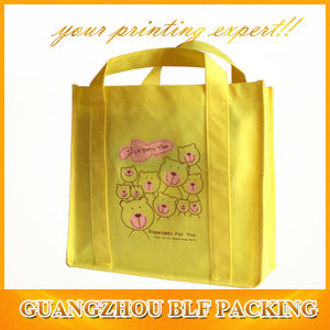 Yellow Fancy Printed Non Woven Bags Gift (BLF-NW181) pictures & photos