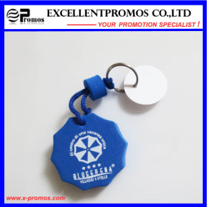 Hot Selling Promotion PU Floater Keychain (EP-K573017) pictures & photos
