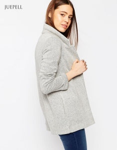 Long Line Down Winter Lady Jacket Coat for Women pictures & photos