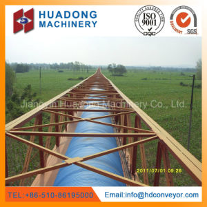 Pipe Belt Conveyor for Bulk Material Handling pictures & photos