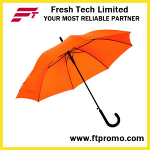 Auto Open 23inch Umbrella with Screen Print pictures & photos
