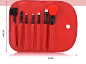 Yixing Red 7 PCS Professional Makeup Brushes Foundation Makeup Brushes Tools