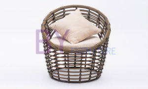 Woven Rattan Round Shape Living Room Garden Leisure Chair