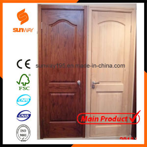 Hot Sale Interior PVC Wooden Door with Competitive Price Sw-P018 pictures & photos