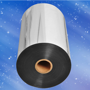 Metallized Polyester Silver Roll Films Met Pet Lamination Film pictures & photos