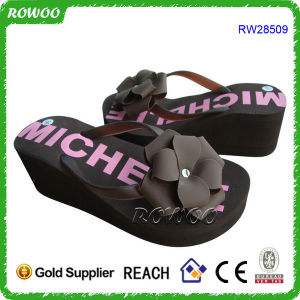 6af91a780d5a10 China Charming Ladies High Heel Sandal with Nice Flower Decoration ...