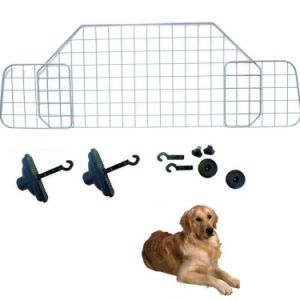 HEAVY DUTY CAR HEADREST WIRE MESH DOG PET CAT GUARD BARRIER
