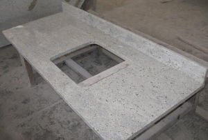 China Kashmir White Granite Kitchen And Bathroom Countertops China