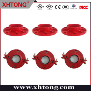 FM/UL/Ce Approved Ductile Iron Grooved Split Flange and Adaptor Flange
