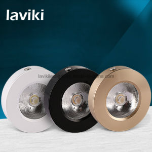 Super Slim Surface Mounted LED COB Downlight with 3-7W