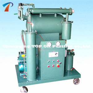 Top Portable Single Vacuum Waste Transformer Oil Purifier Equipment (ZY) pictures & photos