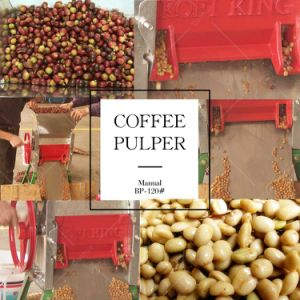 Stainless Fresh Coffee Bean Huller Depulper Machine