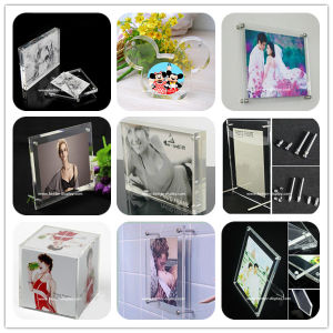 Custom 2017 New Style Acrylic Photofunia/Photo Frame pictures & photos