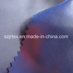 50d/72f 300t Polyester Taffeta Fabric with Oile Crie for Down Jacket
