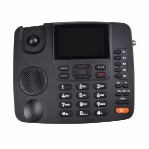 1 Year Warranty Desktop Phone 2g Wireless Phone Dual SIM GSM Fwp G659 Supports FM Radio pictures & photos