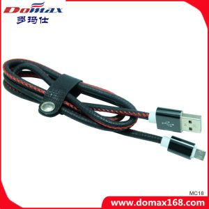 Black Skin USB Charger Cable with Hight Quality pictures & photos