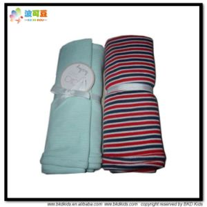 Custom Size Baby Wear Stripe Printing Baby Blanket pictures & photos