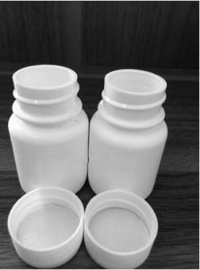 Widespread Use 100ml PE White Capsules Bottles pictures & photos