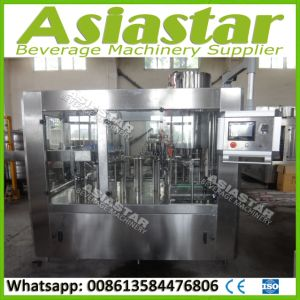 Fully Automatic Juice Bottling Filling Packing Machine System pictures & photos