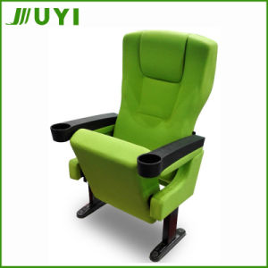 Jy-614 Cheap Plastic Cinema Lecture Chair Cup Holder Auditorium Seating pictures & photos