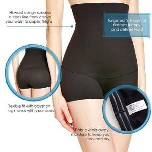 cca6c7f34 China High Waist Tummy Control Shapewear Pants for Women - China ...