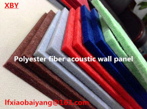 Interior Wall Board Polyester Fiber Acoustic Panel Wall Panel Ceiling Panel pictures & photos