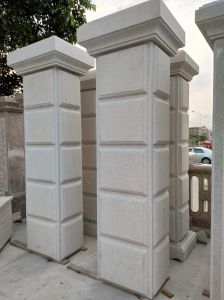Garden Door Gate Pillars with CE Approval