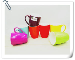Ceramic Mug with Shiny Candy Color pictures & photos