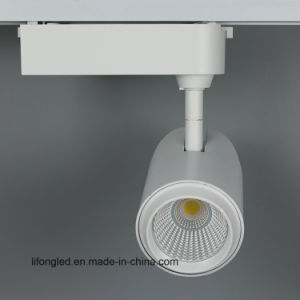 Europe Standard Gallery 3 Phase COB LED Track Lighting pictures & photos