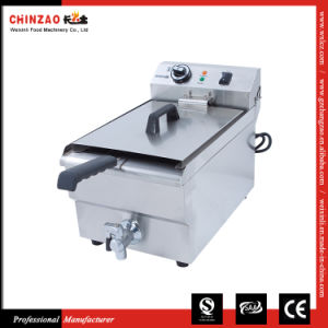 Single Tank Commercial Electric Fryer Dzl-17V pictures & photos