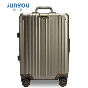 Fashion Travel Trolley Luggage with OEM Printing Service
