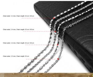 4 Design Fashion Necklace 316L Stainless Steel / Titanium Steel
