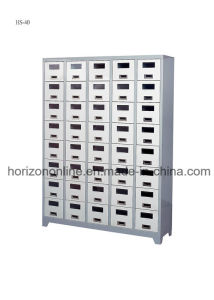 Swinging Furniture with Six Swinging Doors Steel Locker