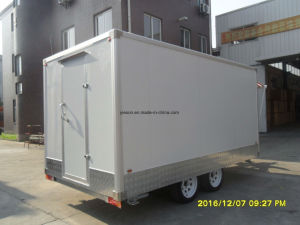 Food Caravan Trailer with Awning pictures & photos