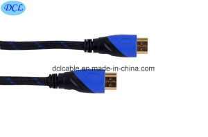 Nylon Net HDMI Cable Double Color pictures & photos