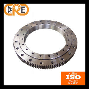The Alloy Steel Single Row Cross Roller Slew Bearing pictures & photos