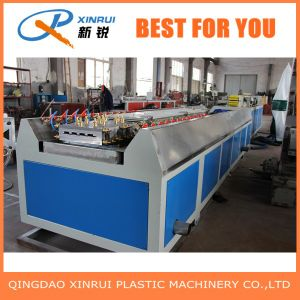 PVC Plastic WPC Decking Board Extrusion Making Machine pictures & photos