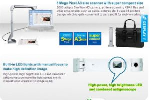 USB Power High Speed Portable Digital Document Scanner (S600) pictures & photos