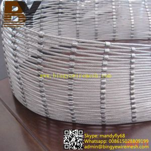 China Flexible Stainless Steel Rope Mesh For Water Resistant