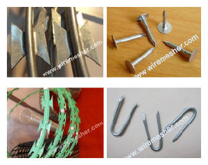 1.4mm*1.4mm to 2.5mm*2.2mm Razor Barbed Wire