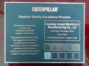 Liaoning Liaoan Machinery Manufacturing Track Shoe for Caterpillar pictures & photos