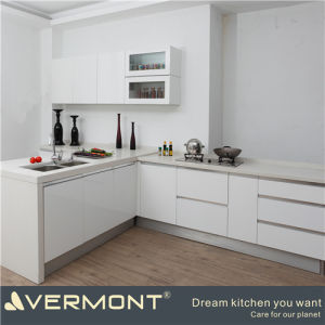 PVC Laminate Decora Kitchen Cabinets (VT-PK-001)